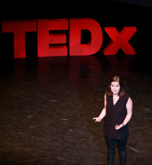 Agnes at TEDx